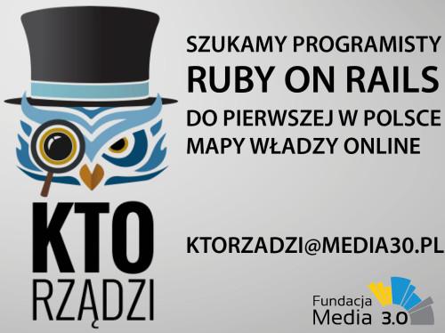 Oferta pracy w projekcie ktoarzadzi.pl